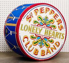Sergeant Pepper's Drum Floor Cushion by Woouf