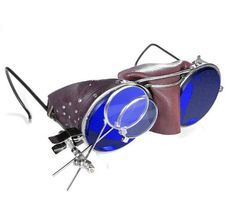 3dc334333dbb5 Steampunk Goggles Antique Willson Steampunk Glasses by edmdesigns Steampunk  Goggles
