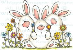 Whipper Snapper Designs is an expansive online store selling a large variety of unique rubber stamp designs. Easter Art, Easter Crafts, Easter Bunny, Doodle Drawings, Cute Drawings, Doodle Art, Easter Paintings, Easter Holidays, Watercolor Cards