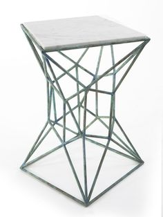 custom archimedes small side table www.mshively.com