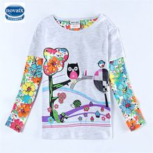 baby girl clothes 100% cotton print children girl t shirts nova brand kids clothing cartoon white t shirt  for girls new F4207 //Price: $US $4.87 & FREE Shipping //     #beauty