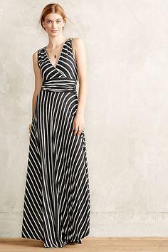 Lined Up Maxi Dress - anthropologie.eu