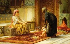 :::: PINTEREST.COM christiancross :::  The First Steps Arabic Frederick Arthur Bridgman