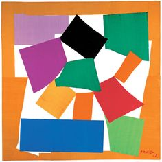 Matisse, The Snail 1952-53.