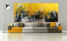 Abstract Painting modern acrylic living room giclee print