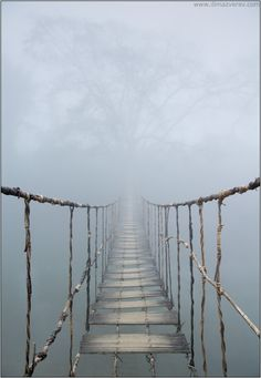 Rope Bridge in Vietnam