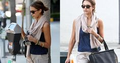Jessica Alba...the scarf!
