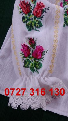 Palestinian Embroidery, Folk Costume, Hand Embroidery, Cross Stitch, Popular, Model, Traditional, Embroidered Clothes, Crossstitch