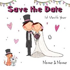 The Little Things Save Date Wedding Season Day
