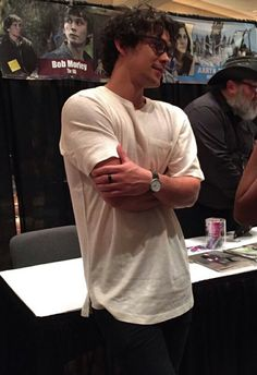 Bob Morley + glasses