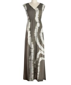 Love this Dusty Olive Charlize Organic Maxi Dress on #zulily! #zulilyfinds