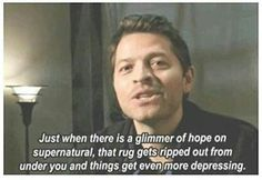 Misha Collins accurately explaining supernatural