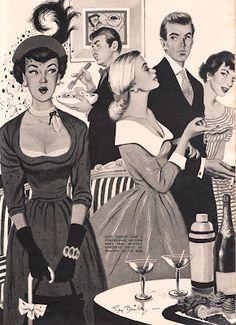 Fabulous #1940s illustration