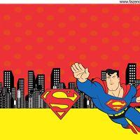Mini Kit de Superman para Imprimir Gratis.