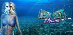 The underwater princess is rewarding you up to 30,000 coins. Play Ariana #onlineslots at Vegas Paradise with £5 bonus. Sign up now