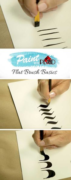 Paint with Plaid, learn to paint with the Flat Brush Basics