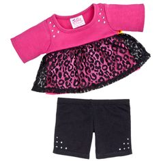 Justice Leopard Tunic Outfit 2 pc. - Build-A-Bear Workshop US