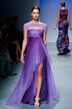 Image detail for -Filipino designer Oliver Tolentino shows his Spring 2010 collection on the runway at Downtown Los Angeles Fashion Week. Ombre Gown, Philippines Fashion, Strapless Dress Formal, Formal Dresses, Formal Wear, Colorful Fashion, Beautiful Gowns, Special Occasion Dresses, Runway Fashion