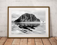 Morro Rock Art Print Morro Bay Art Print California Art Ocean Wall Art Travel Photography Coastal Decor Gift for Him Man Cave Decor Fine Art Photography, Travel Photography, Ocean Photography, Landscape Photography, Morro Bay, California Art, Canvas Prints, Art Prints, Travel Aesthetic