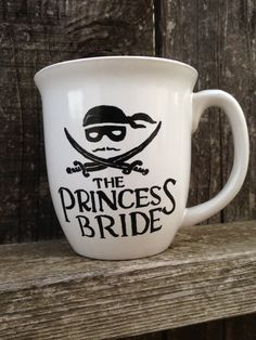 The Princess Bride Inspired Hand Painted by STITCHandCABOODLE, $16.00