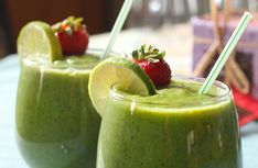 Наиполезнейшие «зелёные» детокс-коктейли с хлореллой и не только они…