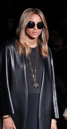 Ciara in Calvin Klein's #NYFW front row