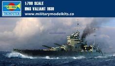 HMS Valiant 1939 Trumpeter 05796