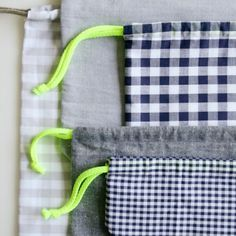 Easy Drawstring Bag: Four New Sizes! | The Purl Bee