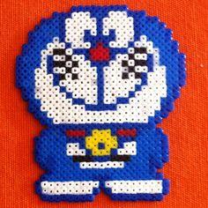 Doraemon hama perler beads by ram4n