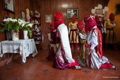Semana Santa (Holly week), Tzintzuntzan, Michoacan, Mexico Photography © Florence Leyret Jeune