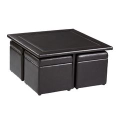 Boston Loft Furnishings, Nylo Storage Cube Coffee Table