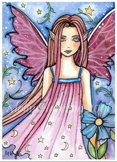 Fairy Art by Molly Harrison Little Violet