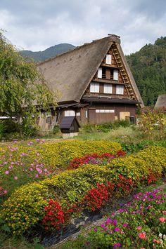 World Heritage site, Shirakawa Village, Japan