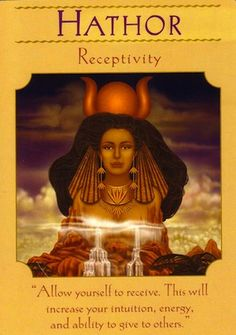 Allow yourself to receive.  This will increase your intuition, energy, and ability to give to others... (keep reading: http://www.freeangelcardreadingsonline.com/2012/hathor-receptivity/)