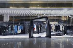 Dark Geometries: Christian Dada Singapore Flagship #thatdope #sneakers #luxury #dope #fashion #trending