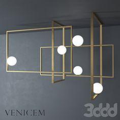 VeniceM Mondrian Glass Ceiling