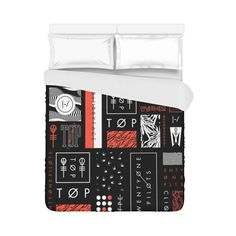 Super Soft 21 Twenty One Pilots Brushed Fabric Bedding Duvet Cover 86x70 Inch in Home & Garden, Bedding, Duvet Covers & Sets | eBay