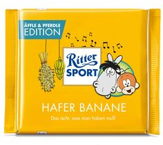 RITTER SPORT Fake Schokolade:  Äffle & Pferdle Edition Cool Pictures, Cool Photos, Trick R Treat, Food Humor, Hilarious, Funny, True Words, Nerdy, Jokes