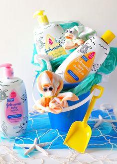 Beach Baby Gift #gift #babyshower #babyshowergifts #babyshowerideas #babyshowerthemes
