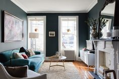 Traditional Meets Contemporary in a Cozy, Charming Brooklyn Heights Home — House Tour