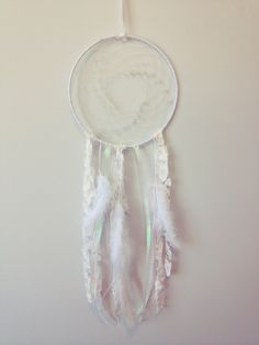 "white noise 7"" lace dream catcher. $30.00, via Etsy."