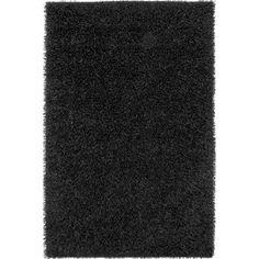 Rizzy Home Kempton KM1593 Rug - (6 Foot x 9 Foot), Black