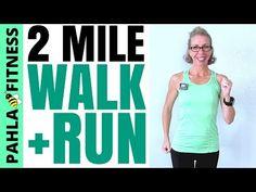 30 Minute 2+ Miles INDOOR WALK + RUN Workout | Tracking PROGRESS Toward Your GOALS - YouTube