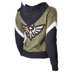 Gamer heaven -  The Legend of Zelda Ladies Zip up Official Hoodie    , $59.89 (http://www.gamer-heaven.net/the-legend-of-zelda-ladies-zip-up-official-hoodie/)