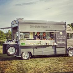 Taken at Stockholm, Sweden. Good Stuff from Carotte - Catering Food Truck