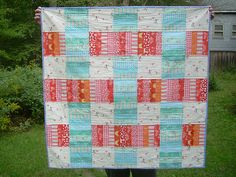 Samantha quilt front | I used the Stacks quilt pattern by El… | Flickr