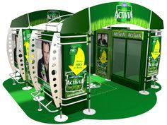 Danone Activia Yogurt Stand POP