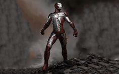 Download wallpapers Iron Man, rocks, superheros, art, IronMan