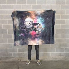 Astronaut Pals Blanket from Beloved Shirts