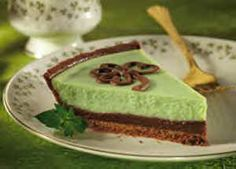 St. Patrick's Day Lucky Mint Cheesecake recipe -     http://www.pastrywiz.com/dailyrecipes/recipes/346.htm